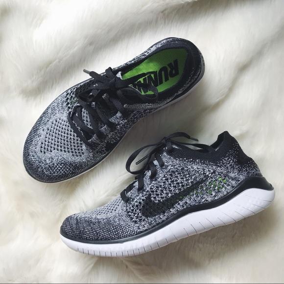388f818dd67f Nike Oreo Free RN Flyknit 2018 Sneakers. M 5b2d8d5daaa5b88ba53427de